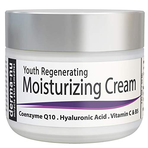 Anti Aging Face Moisturizer with Collagen & Hyaluronic Acid for Day & Night - Wrinkle Defense Facial Cream that Repairs, Protects and Hydrates Skin - Natural & Organic