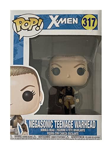Funko Pop! Marvel X-Men: Deadpool Parody - Figura de vinilo de cabeza de guerra adolescente...