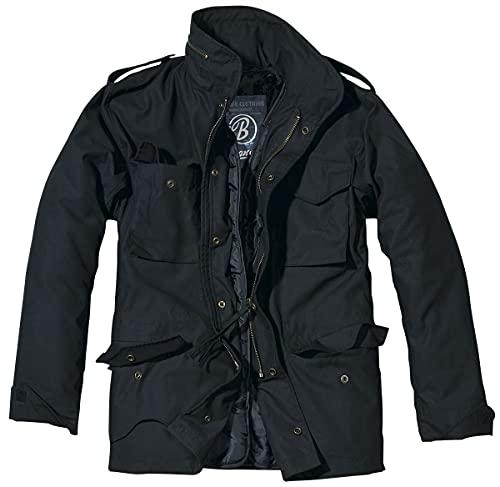 Brandit M65 Standard Jacke Schwarz L