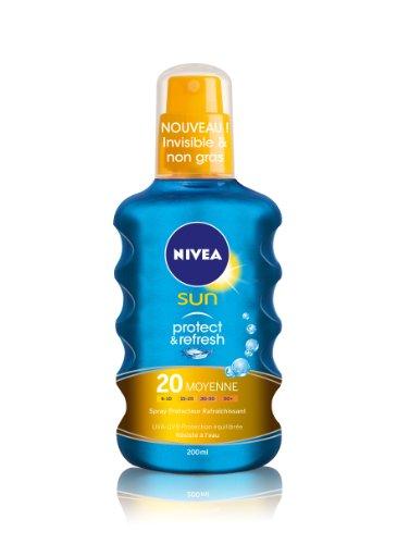 Nivea Sun Spray Protecteur Protect et Refresh FPS20 200 ml