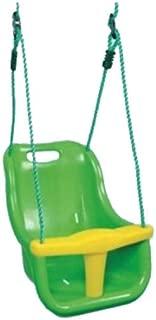 Lamavido Oddler Swing High Backed Toddler Swing 3-in-1/Neonati da Bambino per Bambini Teenager Resistente Staccabile Outdoor Altalena seggiolino con Barra a T