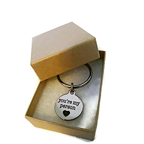 Moonstone Creations You're My Person Key Chain, for Your Person