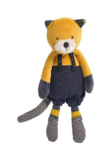 MOULIN ROTY-Poupee chat lulu les moustaches