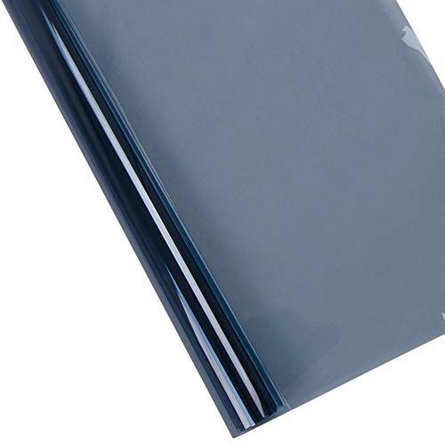 lxxiulirzeu Prueba de Coches lámina for Ventanas UV Nano cerámica Tinte Solar 65% VLT BlueHigh Anti-UV de Calor de Control de Coches Accesorios Protección de Cristal (Size : 152cm x 500cm)