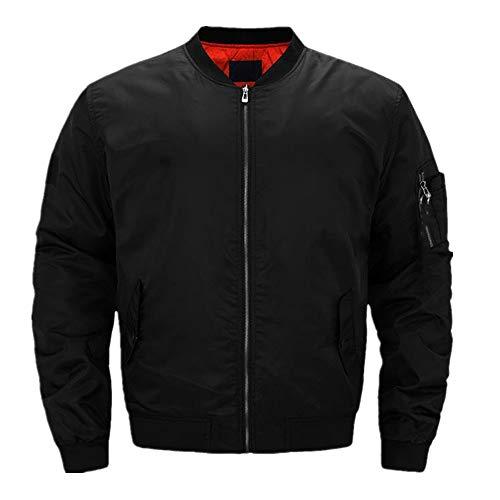 Otoño Invierno para Kawasaki Bomber chaqueta de los Hombres Collar de la Fuerza Aérea Uno de Piloto Chaqueta de los Hombres de Bé