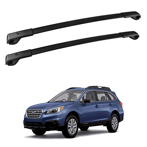 FLYCLE Roof Rack Cross Bars Compatible with 2018-2021 Crosstrek & 2017-2021 Impreza with Side Rails, Car Cargo Roof Racks Rooftop Luggage Kayak Bicycles Canoe Carrier