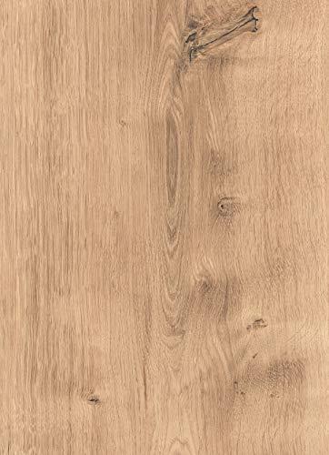 moderna Laminatboden hell 328mm breit | Talida Laminat Eiche hell ✓extrabreites Dielenformat ✓einfache Klick Montage ✓modern heller Look | horizon Laminaten 8mm stark | 2,535qm