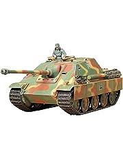 Tamiya 35203 1:35 Dt. SdKfz.173 Jagdpanther Lat.(1), modelbouwkit, plastic bouwpakket, bouwpakket voor montage, gedetailleerde replica