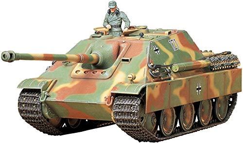 TAMIYA 35203 1:35 Dt. SdKfz.173 Jagdpanther Spät.(1), Modellbausatz,Plastikbausatz, Bausatz zum Zusammenbauen, detaillierte Nachbildung