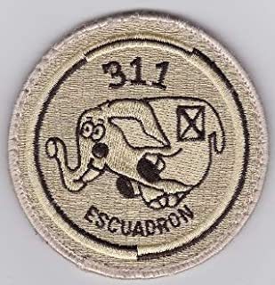 PATCHMANIA Spanish Patch Air Force Ejercito del Aire 311 Esc Squadron C 130 90mm Parches Bordados THERMOADHESIVE Patch