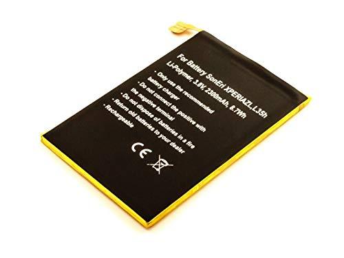 AccuCell Neu Akku passend für Sony Ericsson Xperia ZL, L35h, Li-Polymer, 3,8V, 2300mAh, 8,7Wh, Built-in, ohne Werkzeug