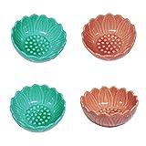 MagiDeal Piatto Rotondo in Ceramica di Ricambio Da 4 Pezzi per Scaldabagno Elettrico, Diametro 3,7 Pollici