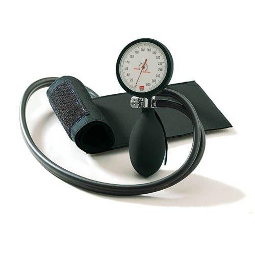 Blutdruckmessgerät boso clinicus II mit Klettenmanschette, schwarz