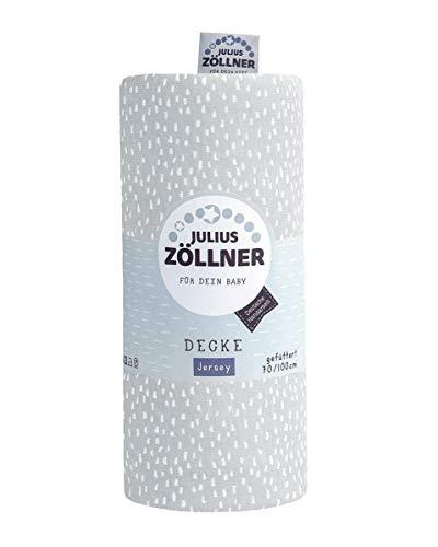 Julius Zöllner Plaid en jersey Gris 70 x 70 cm