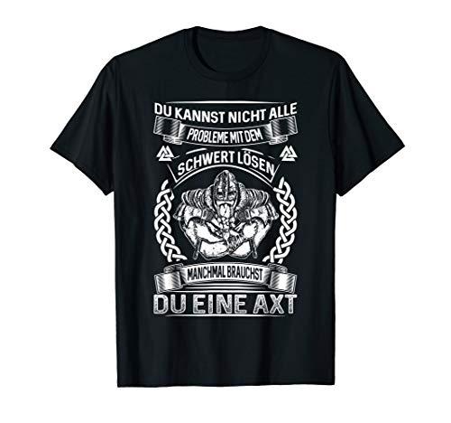 Wikinger T Shirt Herren Spruch nordische Mythologie
