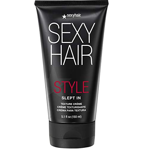 SexyHair Style Slept In Texture Cream, 5.1 Oz | Soft Texture and Control | Lightweight and Adds Shine | Washes Out Easily