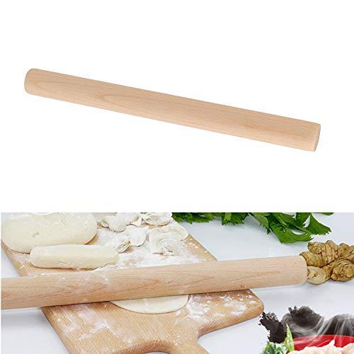FOCCTS Umweltfreundliches französisches Nudelholz aus europäischem Buchenholz