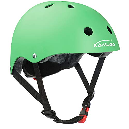 KAMUGO Kids Helmet,Toddler Helmet Adjustable Kids Helmet CPSC Certified Ages 3-8 Years Old Boys Girls Multi-Sports Safety Cycling Skating Scooter and Other Extreme Activities Helmet