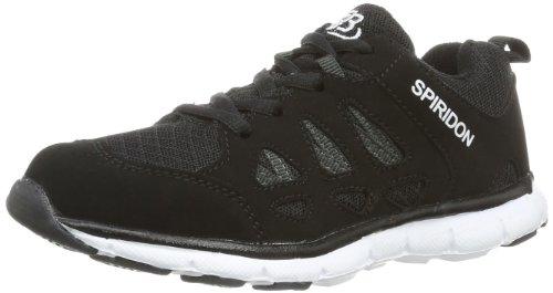 Bruetting SPIRIDON FIT, Unisex-Erwachsene Sneakers, Schwarz (SCHWARZ/WEISS), 38 EU (4 Erwachsene UK)
