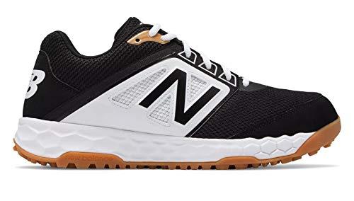 New Balance 3000v4 Fresh Foam Turf Baseballschuh – Schwarz Weiß / Schwarz / Weiß / 45