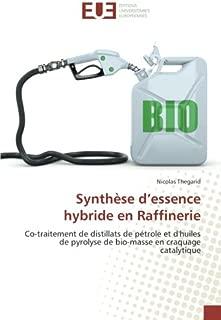 Synthèse d'essence hybride en Raffinerie: Co-traitement de distillats de pétrole et d'huiles de pyrolyse de bio-masse en craquage catalytique (French Edition)