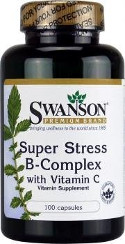 Super Stress B Complex 100 Caps (Pack of 2) by Swanson
