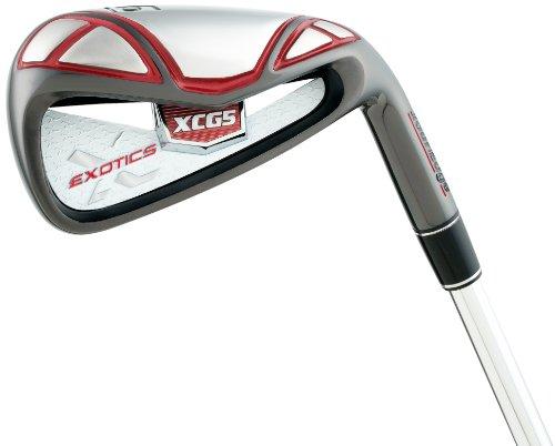 Tour Edge Men's Exotics XCG5 Dynalite 90 4-PW 7-Piece Iron Set (Right-Handed, Regular, Steel Shaft)