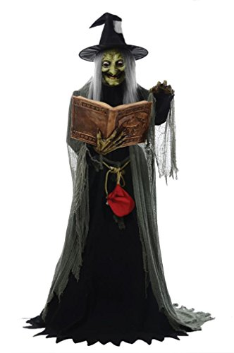 Best Spell Speaking Sorceress Halloween Prop