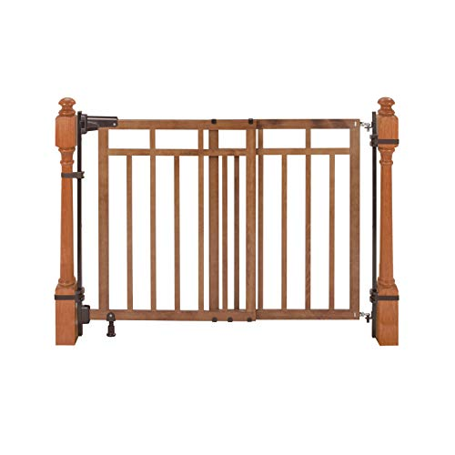 Summer Banister and Stair, Top of Stairs Baby Gate with Dual...