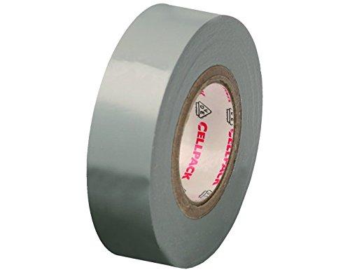 Cellpack 1458161280,15–19–10, PVC Isolierband, grau