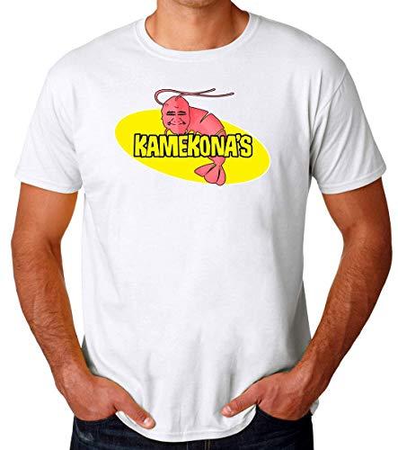Kamekona's Shrimp Männer T-Shirt Large