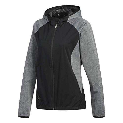 adidas Climastorm Jacket Chaqueta Deportiva, Negro (Negro/Gris Cw6702), One Size (Tamaño del Fabricante:M) para Mujer