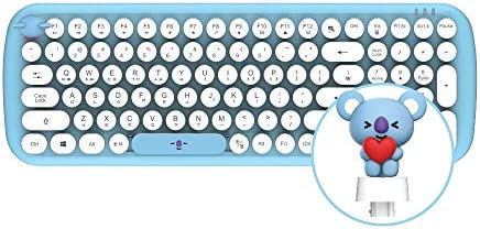 BT21 Baby Wireless Retro Keyboard by Royche (RJ)