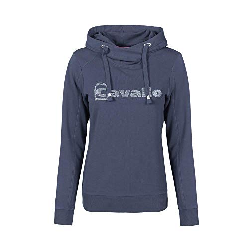 Cavallo Damen Shirt Sweat Kapuze Arina darkblue 40
