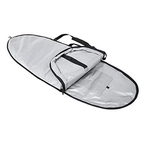 SALUTUYA Práctica Funda Protectora Ligera para Tablas de Surf portátil con Cremallera, Adecuada para Tablas de Surf de Surf para Longboard, Shortboard(6.0)