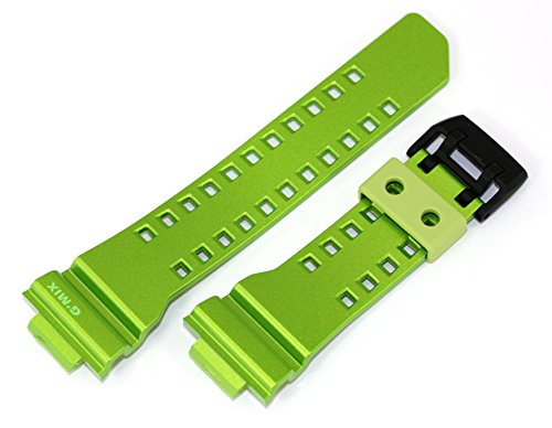 Casio 10488593 Genuine Factory Replacement Resin Watch Band fits GBA-400-3B