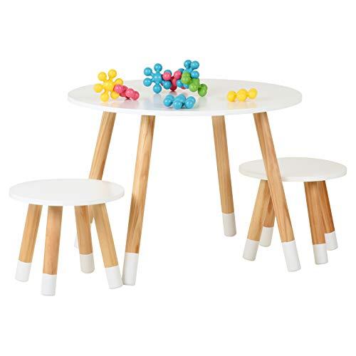 Hartleys Weiß Tisch- und Stuhlset für Kinder