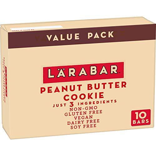 Larabar Gluten Free Bar Peanut Butter Cookie Dairy Free 10 ct 17 oz