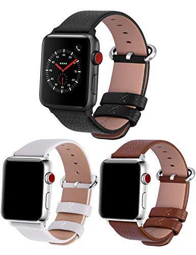 Fullmosa Correa cuero Compatible Apple Watch