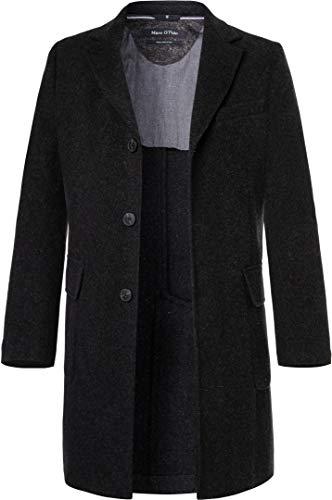 Marc O'Polo Herren Mantel Warme Jacke Uni & Uninah, Größe: 54, Farbe: Grau