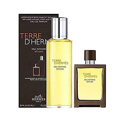 HERMES Eau Intense Vétiver homme/man Eau de Parfum Nachfüllset (Eau de Parfum,30ml+125ml), 155 ml