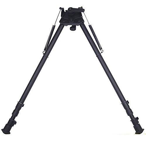 13-27 pulgadas Bípode pivotante largas distancias disparo de caza y tiro oscilar y ladear el rifle con Podlock