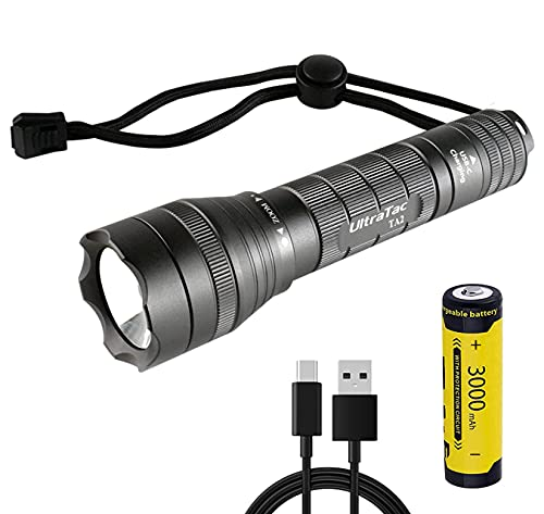 UltraTac Rechargeable Flashlights
