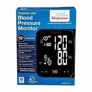 Walgreens Upper Arm Automatic Premium Blood Pressure Monitor, 1 ea