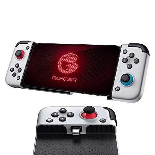 Controlador de juegos GameSir X2 para Móviles Android – Compatible con las plataformas de videojuegos xCloud, Stadia, Vortex. Gamepad con Tipo-C y giro de hasta 51°. Gamepad Plug and Play