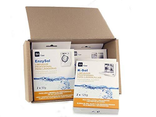 SpareHome Pack de Limpieza Profesional para electrodoméstic