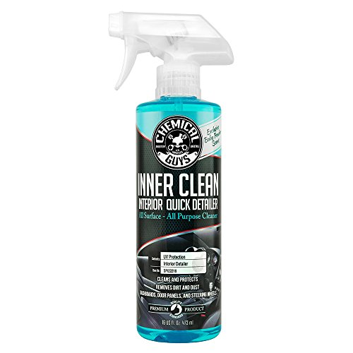 Chemical Guys SPI22216 InnerClean Interior Quick Detailer & Protectant (Baby Powder Scent) (16 oz)