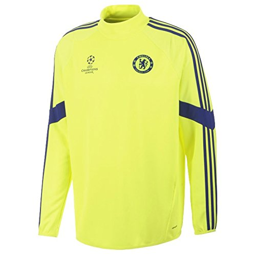 2014-15 Chelsea Adidas EU Training Top (Electricity) - XL