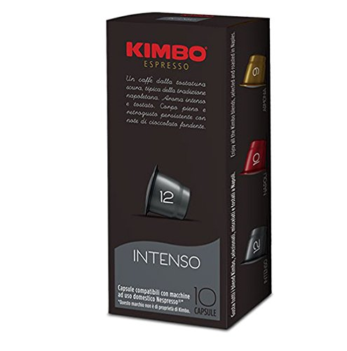 Kaffeepads / Kapseln Kimbo Espresso Intenso für Nespresso 50