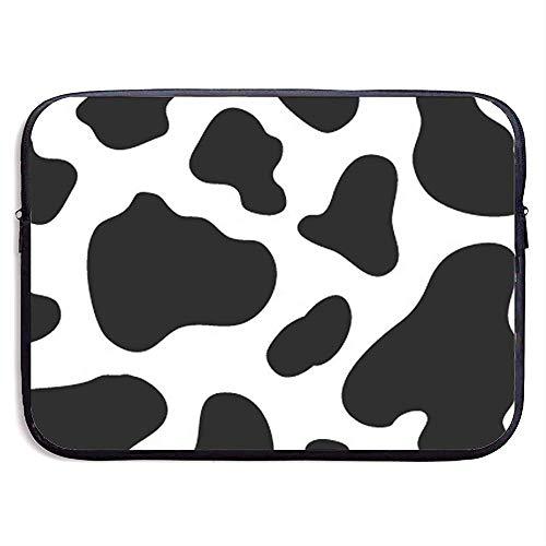 Cow Spot Print Waterproof Laptop Sleeve, Laptop Sleeve Bag- Stylish Cute Neoprene Notebook Carrying Case Handbag 33cm*25.5cm*3.5cm